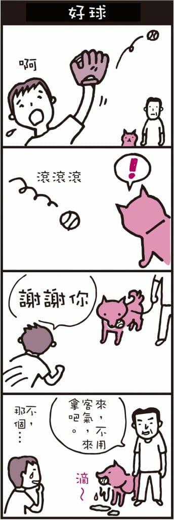 動物漫畫 在我的面前玩接球不能夠原諒