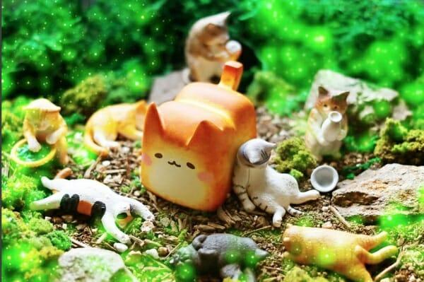 香噴噴的可愛 貓咪吐司 讓人好想咬一口!