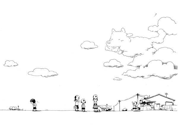狗狗雲朵 來自泰國作家的無聲漫畫 你回來看我了…