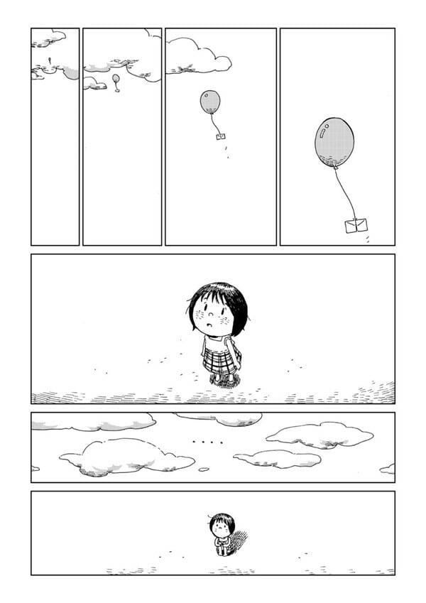 狗狗雲朵 來自泰國作家的無聲漫畫 汽球幫我轉達給牠