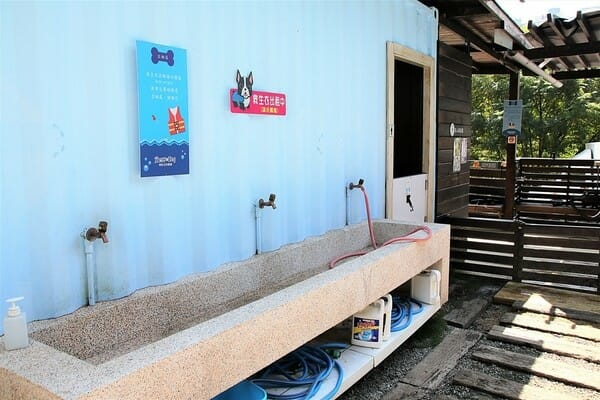 台中寵物餐廳 游泳池夏日大作戰 洗手台