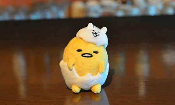 貓咪大戰爭 蛋黃哥推限定餐點玩偶 限定玩偶