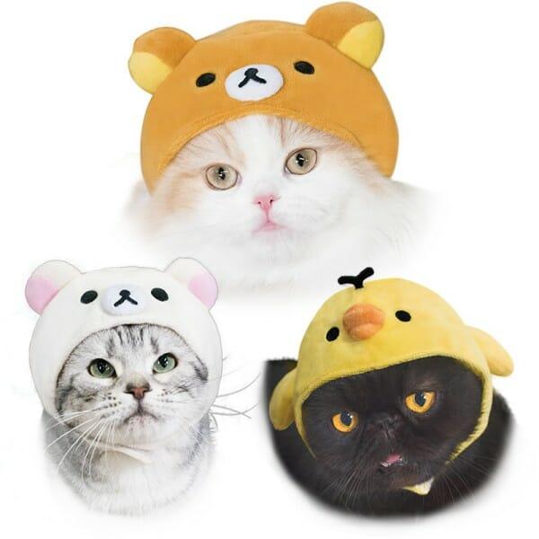 貓咪帽子 品牌necos與迪士尼合作 拉拉熊款