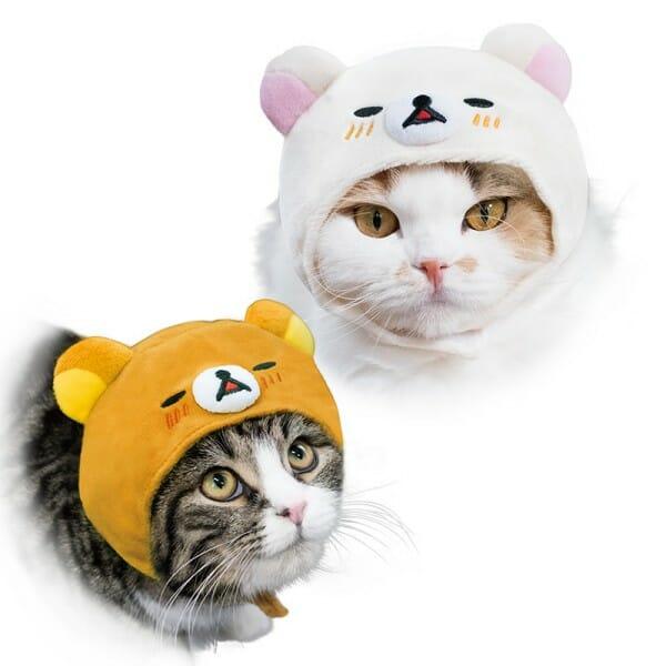 貓咪帽子 品牌necos與迪士尼合作 拉拉熊二
