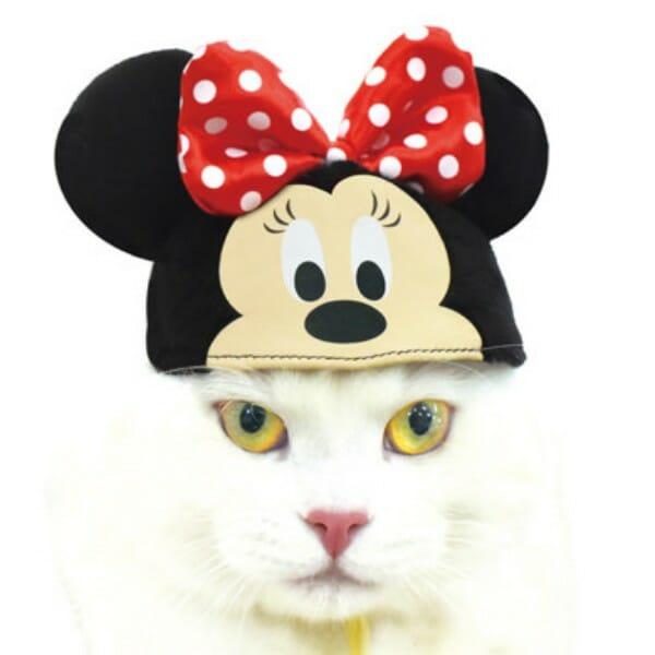 貓咪帽子 品牌necos與迪士尼合作 米妮款