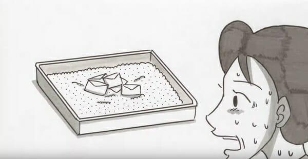 給 貓奴 的信 日本廣告推出意味深長的動畫片