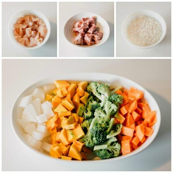 鮮蔬拌飯狗狗鮮食 料理 DIY製作