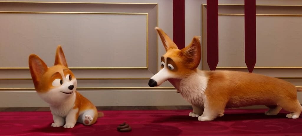 女王的柯基 2019年即將上映 居然在皇室地毯上拉起便便了